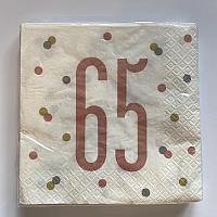 Rose Gold Napkins - 65