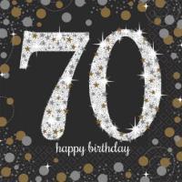 Sparkling Celebration - 70 Napkin