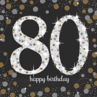 Sparkling Celebration - 80 Napkins