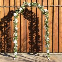 Archway - Wrought Iron - Hex - Decorated