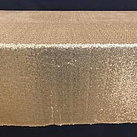 """Banquet Linen - Sequin - Gold - 90""""x 156"""""""