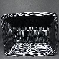 "Bread Basket - Black 9"" x 7"" x 4.5"""