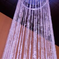 Beaded Crystal Column - Unlit - 9'