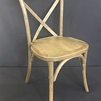Chair - Crossback Vineyard Style- Wood