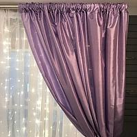 Backdrop Curtain Panel  - Satin - Lavender 5' x 12'