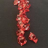 Vase Filler - Acrylic Rock - Red - 454g