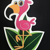 Lawn Bomb - Perky Flamingo Critters