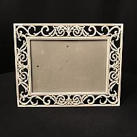 "Frame - Metal - Off White 5"" x 7"""