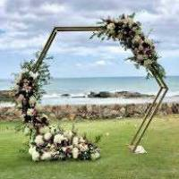 Wooden Archway - Hexagon Shape