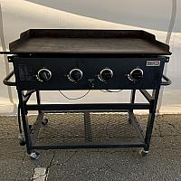 "Flat Top Griddle 22""w x 36""l"