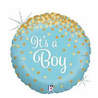 """Mylar - 18"""" - It's a Boy"""