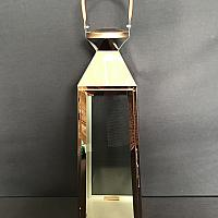 "Lantern - Copper 21"" h"