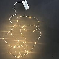 Wire Fairy Lights - LED - Warm White