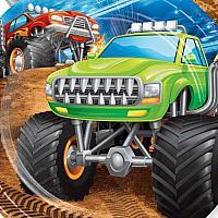 Monster Truck Rally - Napkins