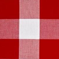 Napkin Gingham Red & White