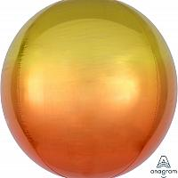 Ombre Orbz - Yellow & Orange - 16""