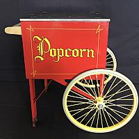 Rolling Cart for the Popcorn Machine