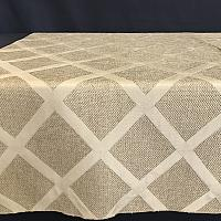 "Table Overlay - Burlap - Sedona 72"" x 72"""