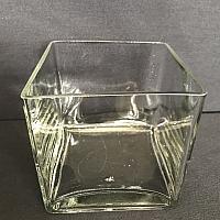 "Square Vase - 5"" x 5"""