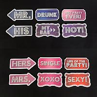 Selfie Signs - Party Glitz Bundle