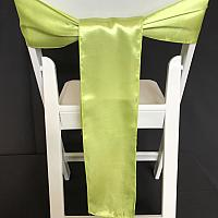 Chair Tie - Satin - Apple