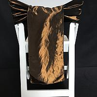 Chair Tie - Taffeta - Chocolate