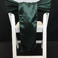 Chair Tie - Silk - Forest Green