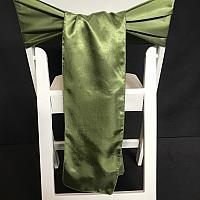 Chair Tie - Silk - Moss