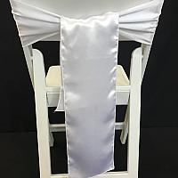 Chair Tie - Silk - White