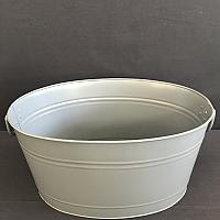 "Beverage Tub - Grey 14.5"" x 19.5"" x 10"""