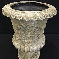 """Stone Urn - 16"""" high"""