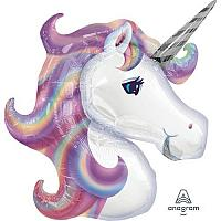 Mylar - Pastel Purple Unicorn