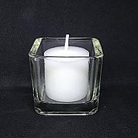 Votive Candle - White - 10 hour burn time