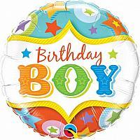 "Mylar - 18"" - Birthday Boy"