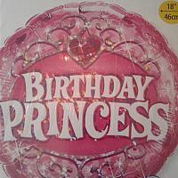 "Mylar - 18"" - Princess"