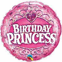 """Mylar - 18"""" - Birthday Princess"""