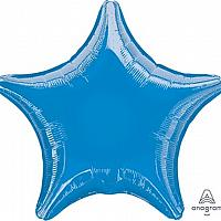 "Mylar 18"" - Blue Star"