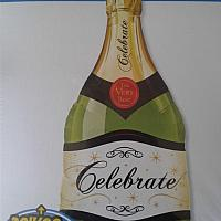 "Mylar - 39"" - Champagne Celebration"