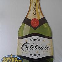 "Mylar - 39"" Champagne Celebration"