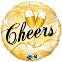"Mylar - 18"" - Champagne Cheers"