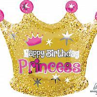 Mylar - Happy Birthday Princess