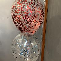 """Confetti Balloon - 11"""" Latex"""