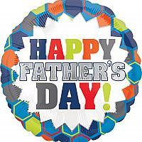 """Mylar - 18"""" - Happy Father's Day"""