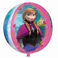 Orbz - Frozen Anna, Elsa, and Castle
