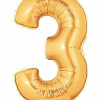 """40"""" Mylar - Gold - 3"""