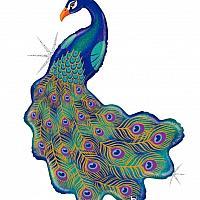 Mylar - Peacock Balloon
