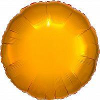 """Mylar 18"""" - Shiny Gold Round"""