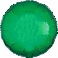 "Mylar 18"" - Green Round"