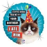 "Mylar - 18"" - Grumpy Cat"