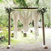 Macrame Hanging Backdrop